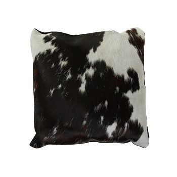 Cowhide Pillow - Gray / Brown