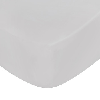 Langdon Fitted Sheet - Silver