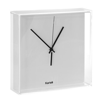 Tic&Tac Wall Clock - White