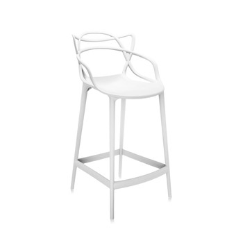 Tabouret Masters - Blanc