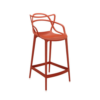 Masters Stool - Rusty Orange