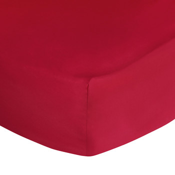 Polo Player Fitted Sheet - Red Rose