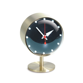 Night Desk Clock - Gold