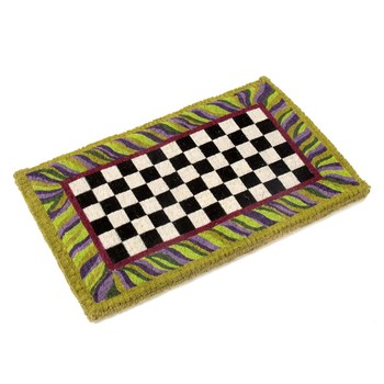 Courtly Check Entrance Mat