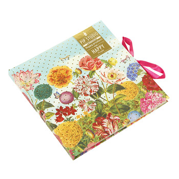 Wild Flowerland Diary with Ribbon Lock