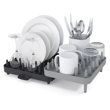 Connect Adjustable Dishrack - Grey