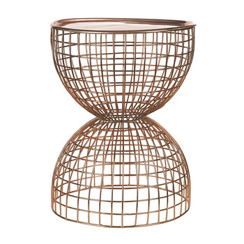 Wire Diabola Table - Copper