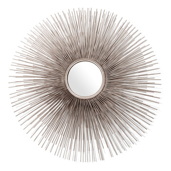 Round Prickle Mirror - Nickel