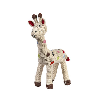 Girafe en Crochet - Pois Naturel