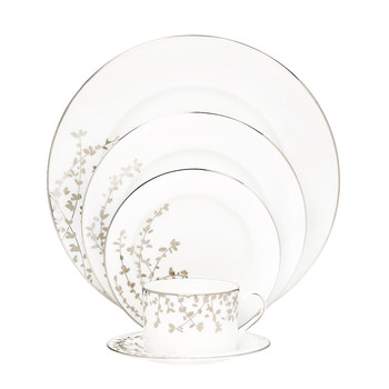 Gardner Street Platinum 5-Piece Place Setting