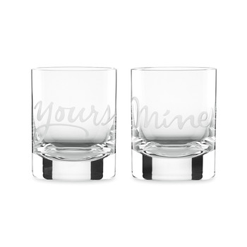 Two of a Kind Mine & Yours DOF Tumblers - Set of 2