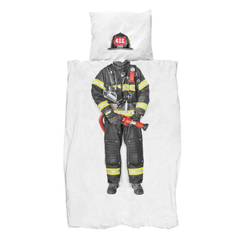 Firefighter Duvet Set - Single