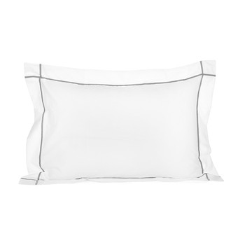 Athena Silver Pillowcase