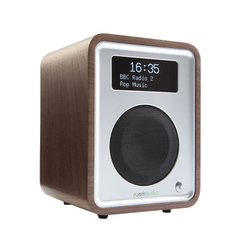 R1MK3 Deluxe Table Top Radio with Bluetooth - Rich Walnut Veneer