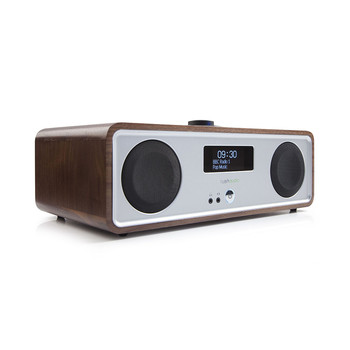 R2MK3 Table Top Stereo with Bluetooth/Wifi - Rich Walnut Veneer