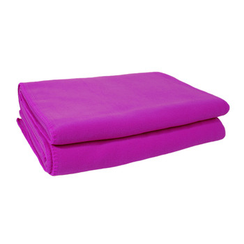 Soft Fleece Blanket - Fuchsia