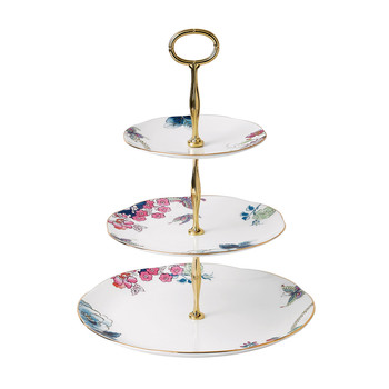 Butterfly Bloom 3 Tier Cake Stand