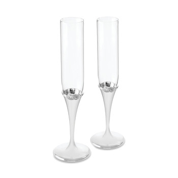 Infinity Toasting Flutes - Set of 2