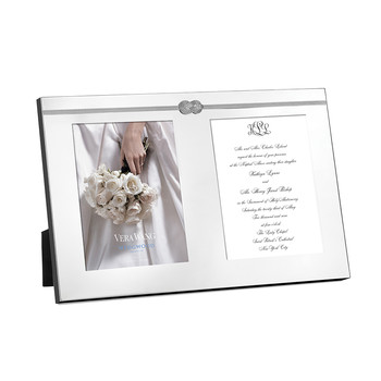 Infinity Double Invitation Frame