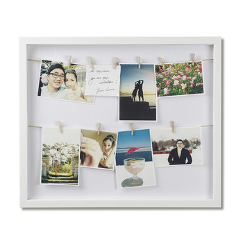 Clothesline Photo Display Box