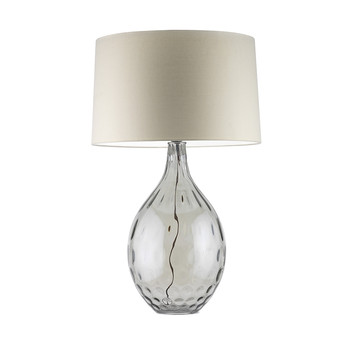 Bella Table Lamp - Smoke / Oyster