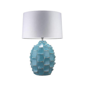 Bayern Table Lamp - Turquoise / White