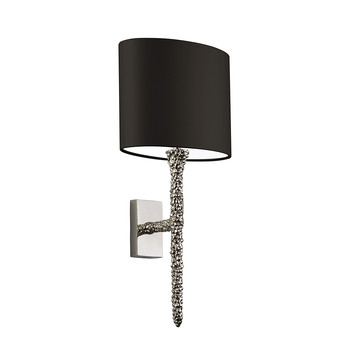 Helene Wall Light - Nickel / Black
