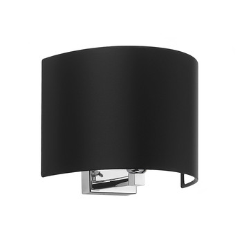 Piro Wall Light - Chrome / Black