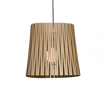 Kerf Light Ripley Pendant - Black