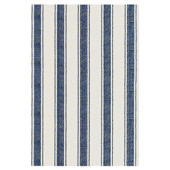 Blue Awning Stripe Rug