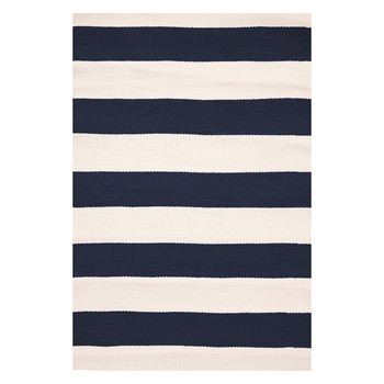 Catamaran Stripe Rug - Navy