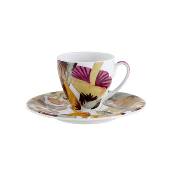 Champignon - Coffee Cup & Saucer - Set of 2