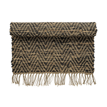 Day Zigzag Rug Nature/Black