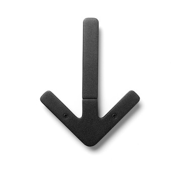 Arrow Hanger - Black