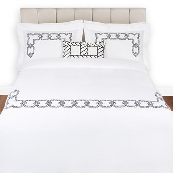 Gatsby - Super King Set - White/Black