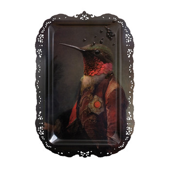 Galerie De Portraits - Rectangular Bird Tray - Ambroise