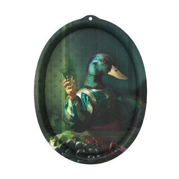 Galerie De Portraits - Oval Tray