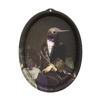 Galerie De Portraits - Oval Tray - Honore