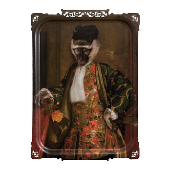 Galerie De Portraits - Large Rectangular Tray - Cornelius