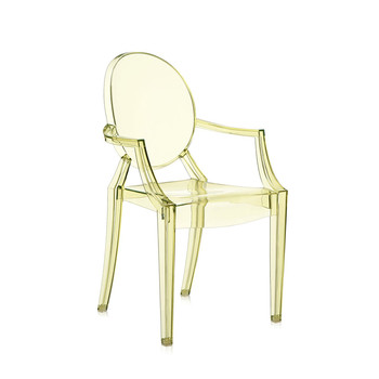 Loulou Ghost Children's Chair - Yellow
