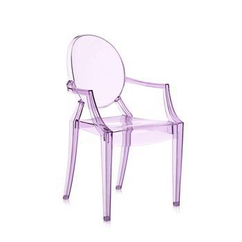 Loulou Ghost Children's Chair - Violet
