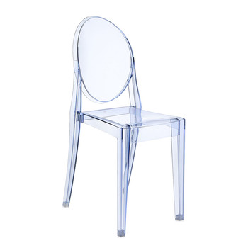 Victoria Ghost Chair - Light Blue