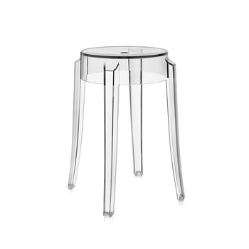 Charles Ghost Stool - Crystal