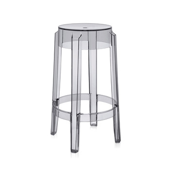 Charles Ghost Stool - Gris Fumé