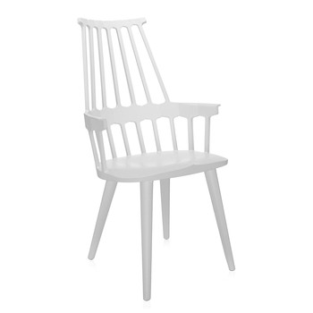 Comback Four Legs Chair - White/White