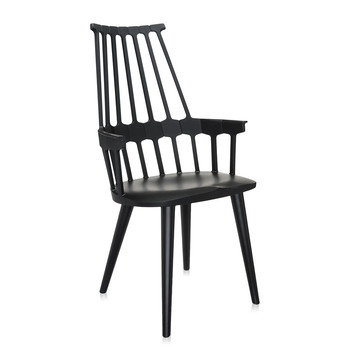 Comback Four Legs Chair - Black/Black