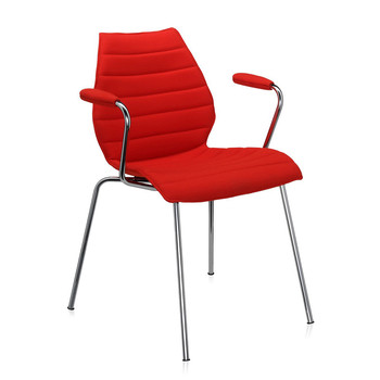 Kartell - Fauteuil Maui Soft - Rouge