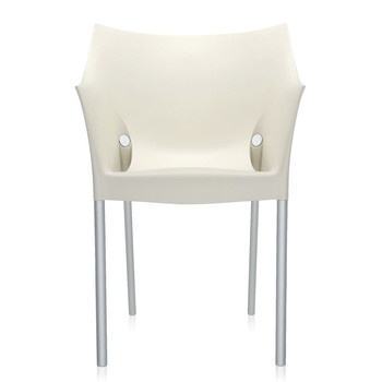 Dr. NO Outdoor Armchair - Wax White