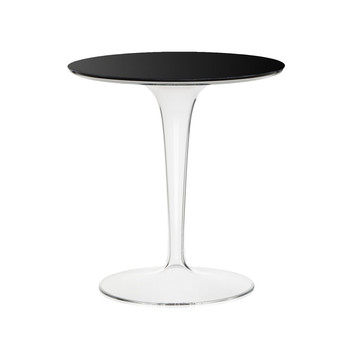 Tip Top Side Table - Glossy Black