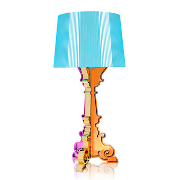 Bourgie Lamp - Light Blue